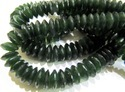 AAA Quality Natural Serpentine German Cut Bead