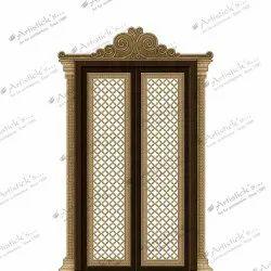 Modern Pooja Door Accessories