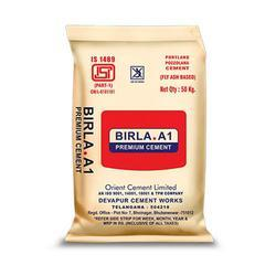 Birla A1 Premium PPC Cement, Packaging Size: 50 Kg, Packaging Type: Sack Bag