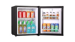 Black Mini Bar Refrigerator, 70W