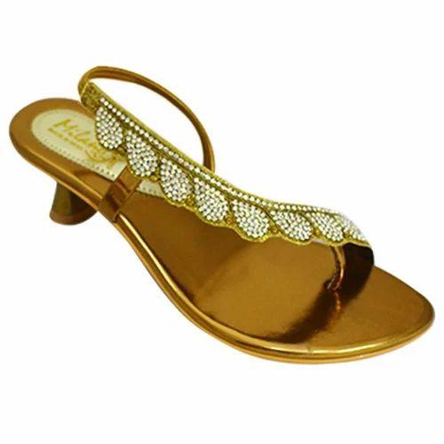 Milano Stone Work Wedding Heel Sandals