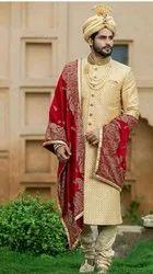Traditional Stitched Mens Designer Sherwani