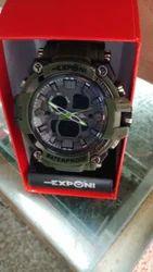 Exponi Analog Watch