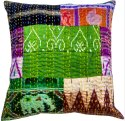 Indian Patola Silk Cushion Covers