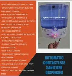 Non Contact Hand Sanitizer Dispenser