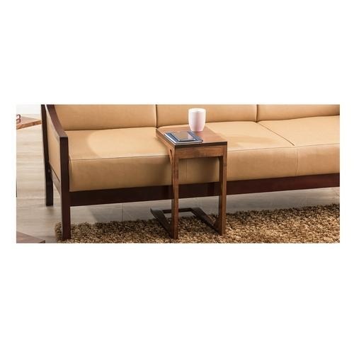 Durian Otter Rectangular Solid Wood C Side Table