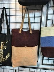 Two Colored Washed Jute Bag
