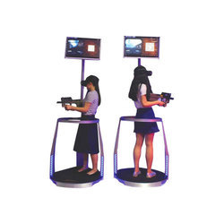 Two Players Shooting Game Machine