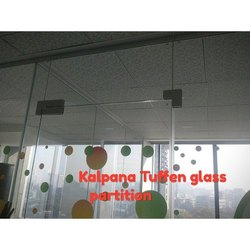Decorative Glass Office Partition