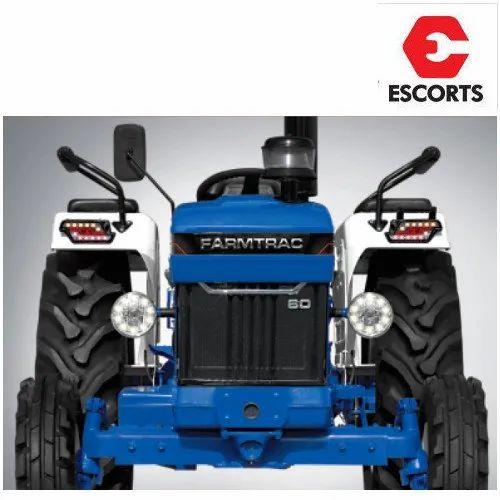 Escorts Farmtrac 60 Classic Tractor, Escorts