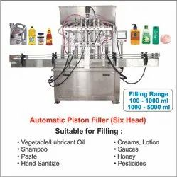 Disinfection Liquid/Gel Filling Machine 6 Head