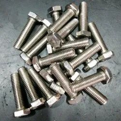 Stainless Steel Full Thread SS Hex Bolt, Size: 2 Inch, Grade: 202