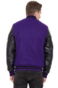 Wool Leather Jacket - Men