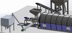 Semi Continuous Tyre Pyrolysis Oil Plant