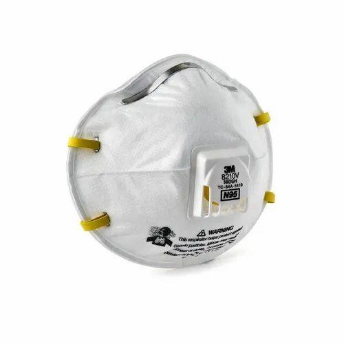 3M Safety 8210V, N95 Particulate Respirator Mask