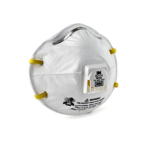 3M Safety 8210V, N95 Particulate Respirator Mask