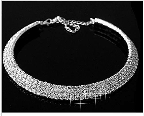 Fashion Jewelry - Diamante Crystal Rhinestone Choker