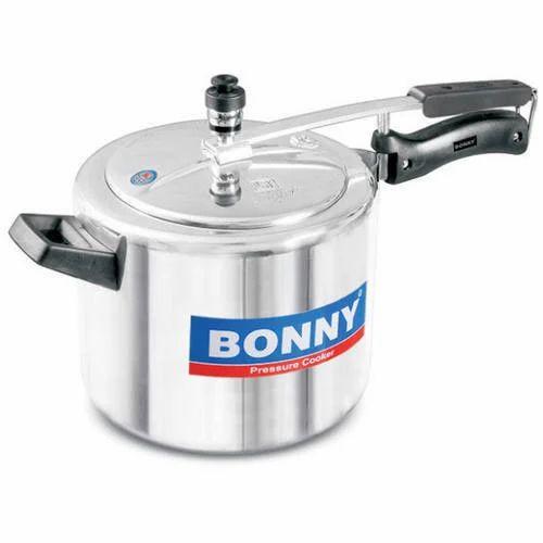 063e7f049e6 Bonny Aluminum 5 Liter White Inner Lid Pressure Cooker