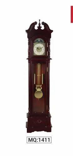 Wood, Quartz Mechanism Grand Father Clocks