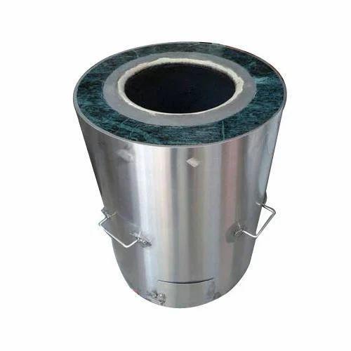 Round SS Drum Tandoor, Capacity: 200L