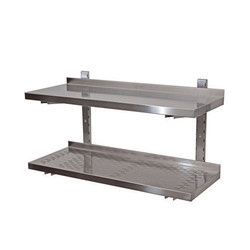 Adjustable SS Wall Shelf
