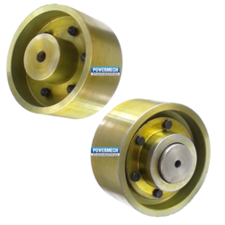 Geared Brake Drum Coupling