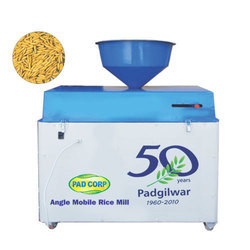 Angel Mobile Rice Mill Machine