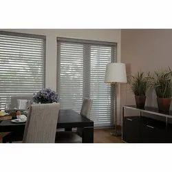 White PVC Horizontal Window Blinds