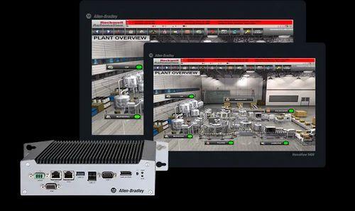 Allen Bradley VersaView 5400 Industrial Computer, Screen