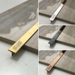 SDS Brand Stainless Steel T Beading Profiles