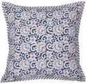 Hand Block Printed Reversible Cushion Cover 100% Cotton Printed Sofa Pillow Cover