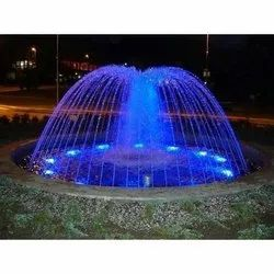 Minal Stainless Steel Outdoor Ring Fountain, For Garden Places