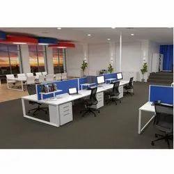 Blue Desking Workstation