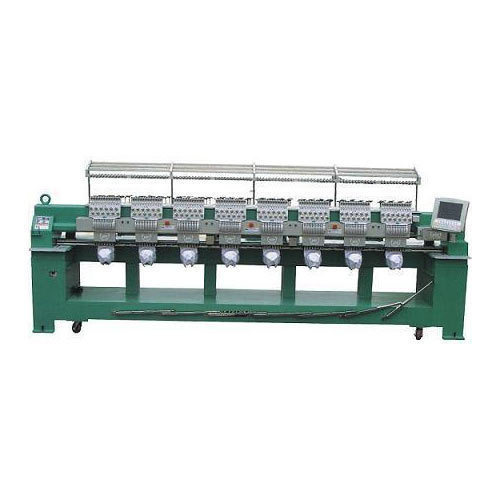 Schiffli Embroidery Machine - Multi Head Mini Schiffli Embroidery Machine Manufacturer From Surat