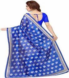 Embrodary Silk Saree