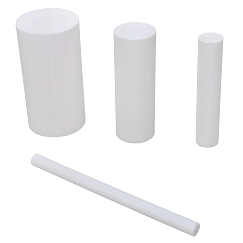 "3 1//4/"" Virgin PTFE Teflon Plastic Rod-Price Per Foot-Cut to Size!"