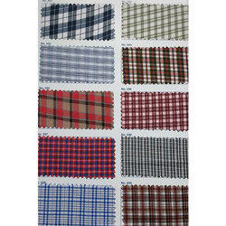 Uniform Color Check Fabric