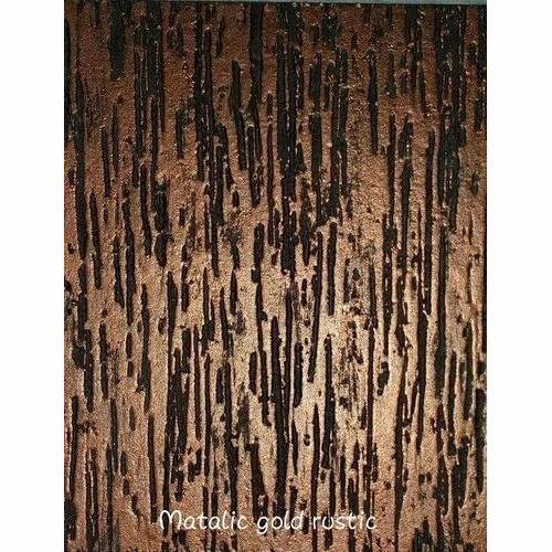 Anant Paint Udyog Metallic Gold Rustic