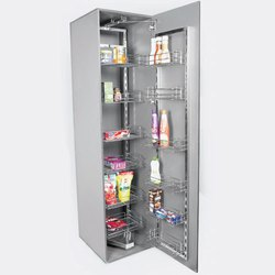 Wire Basket Pantry Pullout With S