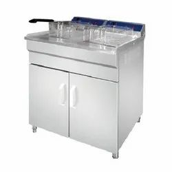 Pacific Double Tank Gas Deep Fryer