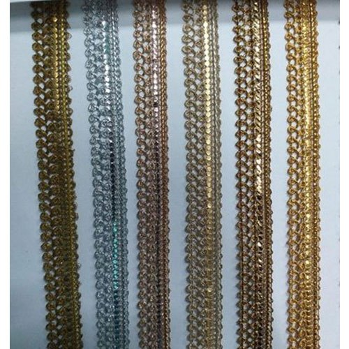 1.5-4 Inch Multicolor Fancy Lace, for Dupatta