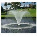 Rgb Spray Tulip Floating Jet Fountain