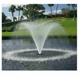 Spray Tulip floating Jet Fountain