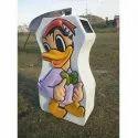 Donald Duck Dust Bin