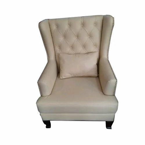 White Maharaja Sofa Chair At Rs 18000