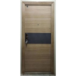 Hinged SD9001 Mild Steel Safety Door, Size: 2100 X 960 X 70 Mm (H X W X D)