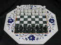 Marble Inlay Chess Board