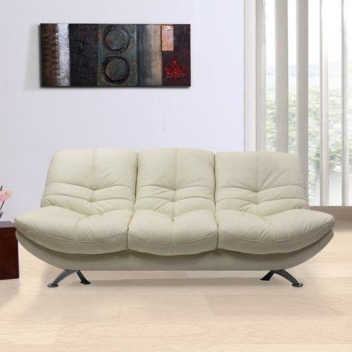 Evok White Austin Leather Sofa Set, Rs 174990 /set, Majestic ...