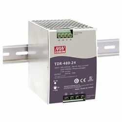 480W Three Phase Industrial Din Rail with PFC Function