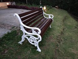 Cast Iron Bench